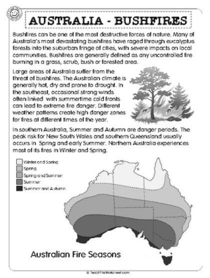 Australia - Bushfires