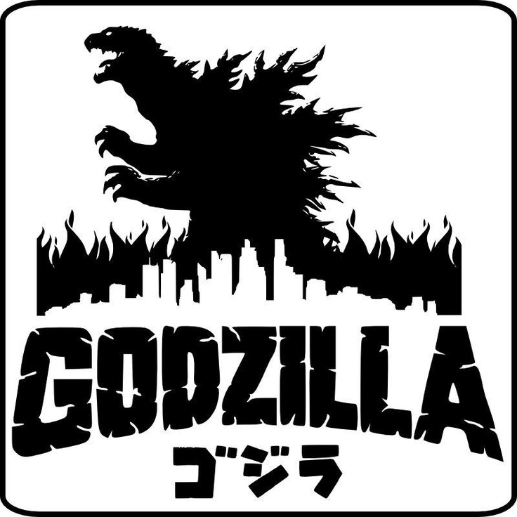 Vintage Sci Fi Horror Movie Poster Godzilla 1965 Invasion: 22 Best Godzilla Images On Pinterest