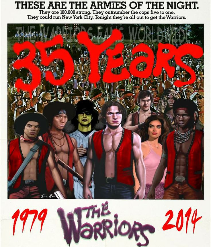228 Best Images About The Warriors (1979) On Pinterest