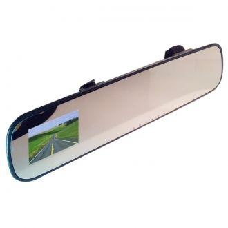 Xblitz Mirror to profesjonalna kamera samochodowa wbudowana w lustero samochodowe o ultra-szerokim kącie widzenia 140 stopni umozliwiającą rejestracje obrazu w rozdzielczości FullHD 1920 x 1080 px. Dzięki prostemu rozwiązaniu mocowania lusterka, montaż jest szybki i wygodny. Rejestrator umieszczony w lusterku jest dyskretny i nie przeszkadza w prowadzeniu pojazdu