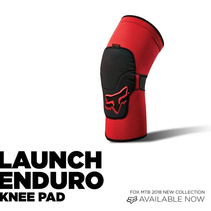 Fox Mtb 2018 Launch Enduro Knee Pads Pedal Friendly Knee Guards Shuttling To The Top Of Your Downhill Run Isn T Always An Option And B Best Mtb Mtb Knee Pads