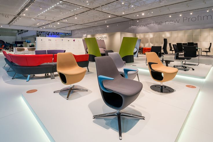 #Profim at Orgatec 2014 in Cologne. Collection: Pelikan. Design: Mac Stopa / M. Ballendat.