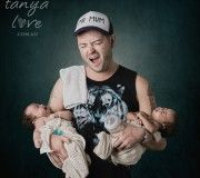 """""""Single Dad"""" Portrait - Copyright Tanya Love. www.tanyalove.com.au 2013. All rights reserved."""