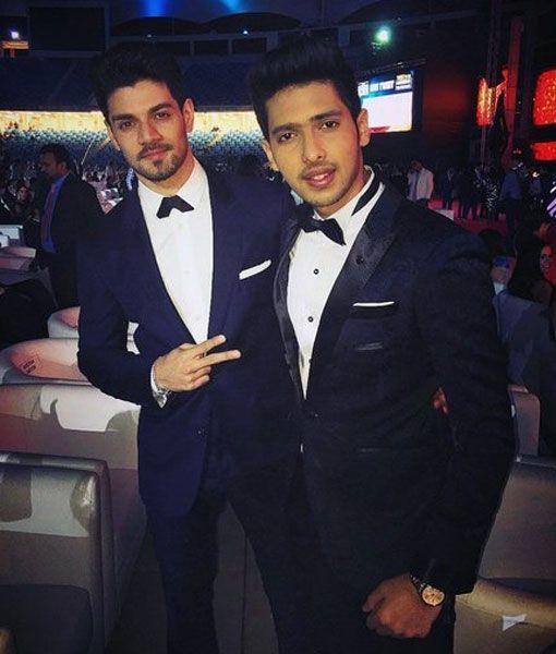 Sooraj Pancholi and Armaan Malik at #TOIFA2016