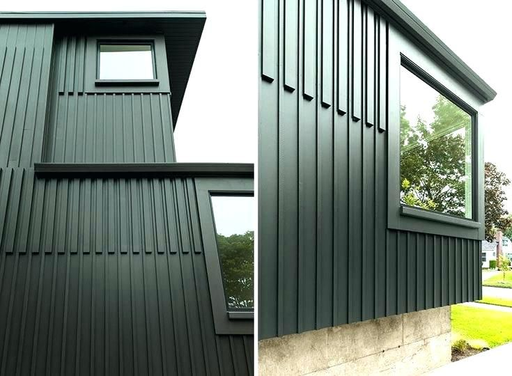 Board And Batten Siding With Inserted Boards For Detail Board And Batten Exterior House Exterior Clad Home