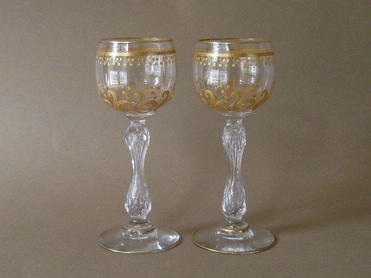 Crystal Cognac Glasses