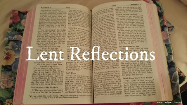 Lent 2016 Reflections and ideas to prepare for Easter. | Cordier ...