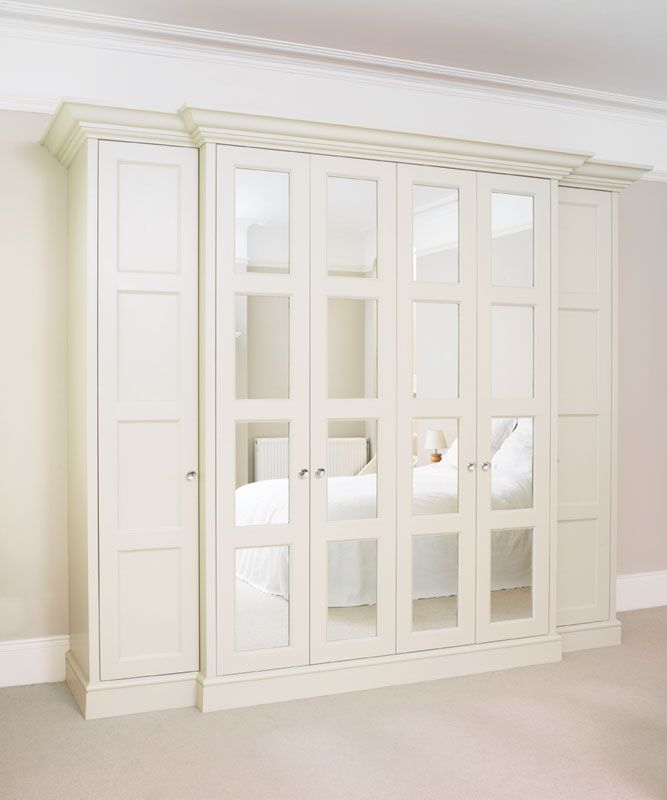Edwardian Mirror Wardrobe