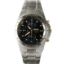 Seiko Titanium Chronograph Watches SND449 SND449P1