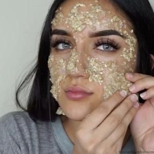 Oatmeal, masker wajah, tips kecantikan, perawatan kulit
