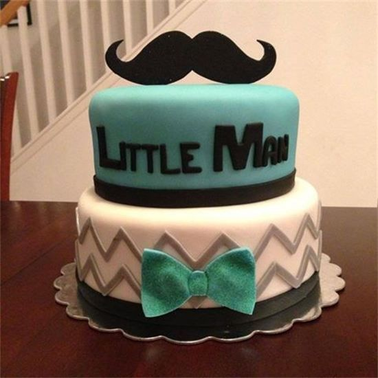 Mustache Cake By Amberslittlecupcakery Com Cakes