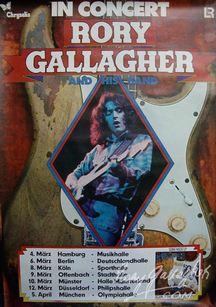 1000 Images About Rory Gallagher On Pinterest Lineup