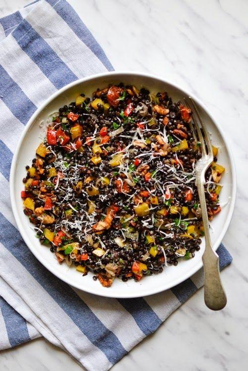 S vášní pro jídlo: Teplý salát z čočky