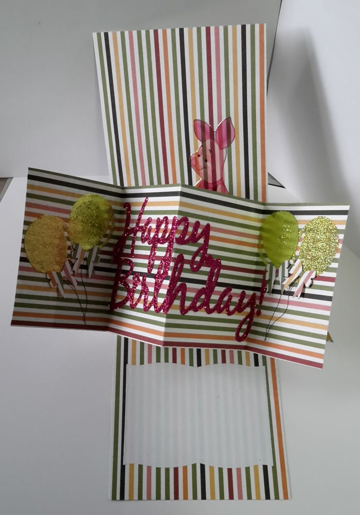 An easy pop-up card. No special tools. Measurement sheet is here: http://www.mediafire.com/download/ccddhwy8oaxabed/Pivot_Twist_Pop-up_card.pdf Collette Mitr...
