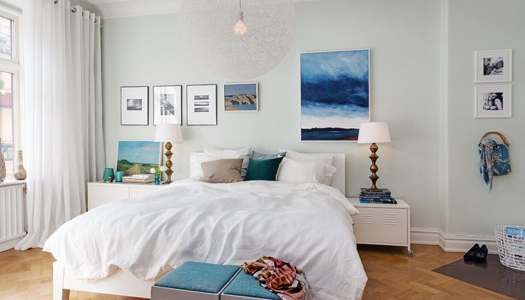 Colorful Scandinavian Apartment Infused With Rich and ...