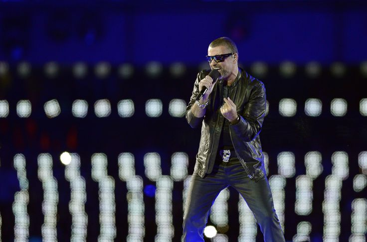 British singer George Michael performs during the closing ceremony of the 2012 London Olympic Games at the Olympic stadium in London on August 12, 2012. Rio de Janeiro will host the 2016 Olympic Games. AFP PHOTO/LEON NEAL        (Photo credit should read LEON NEAL/AFP/GettyImages) via @AOL_Lifestyle Read more: http://www.aol.com/article/entertainment/2016/12/30/george-michael-s-autopsy-inconclusive-police-say/21644589/?a_dgi=aolshare_pinterest#fullscreen