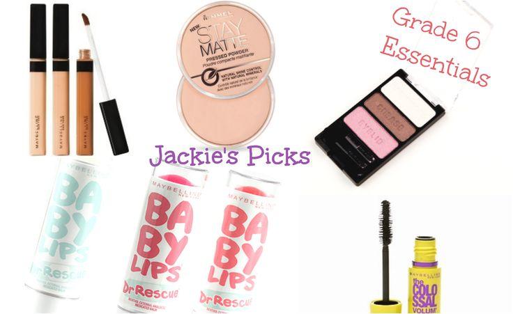 Middle School Makeup Essentials: Grade 6!