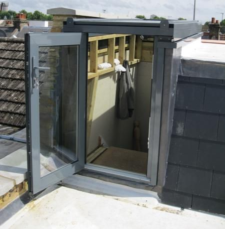 Lift Top roof access hatch