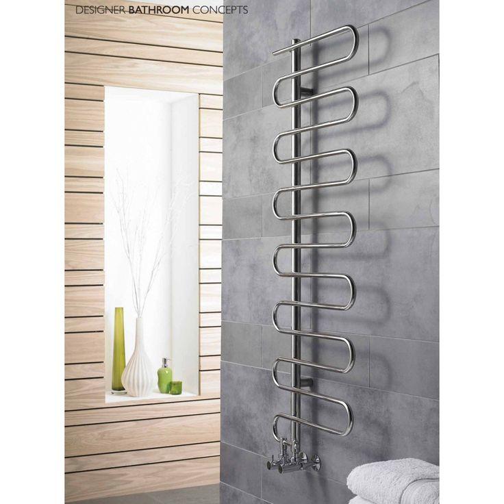 Poise Stainless Steel Bathroom Radiator - Main Image