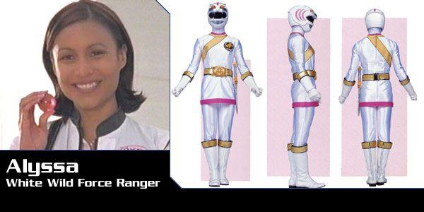 Alyssa Enrile (White Tiger Wild Force Ranger) - Power Rangers Wild Force | Power Rangers Central