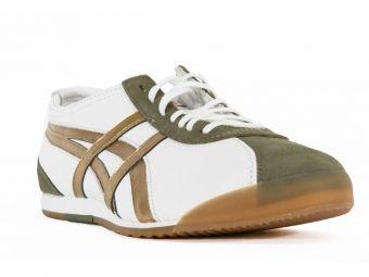Ανδρικά παπούτσια ASICS unisex σε λευκή απόχρωση