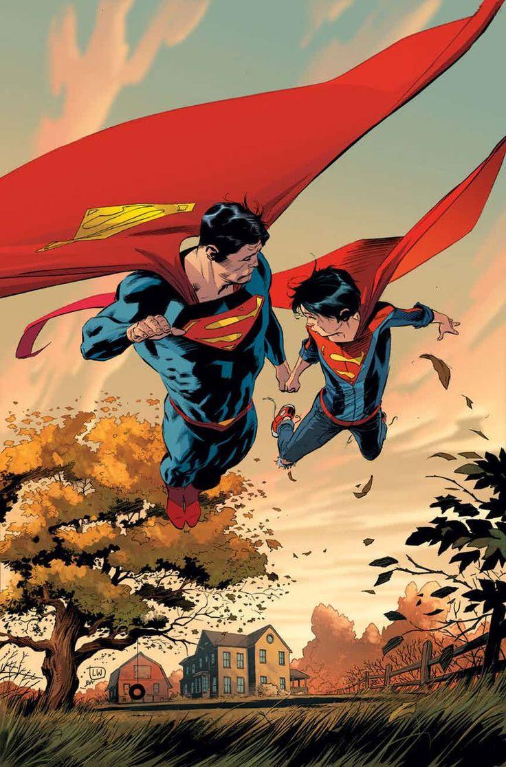 """SUPERMAN_26VIAJE POR CARRETERA"""" parte uno!  Ha sido una montaña rusa emocional y física para Superman, Lois y Jon: el Eradicador, la Isla de los Dinosaurios, Frankenstein y la Novia, la Multiversidad, el Reborn y el Amanecer Negro, ¡una aluvión de terror y horror!  ¿Qué necesita la familia ahora mismo?  Sí, lo tienes ... unas vacaciones!"""