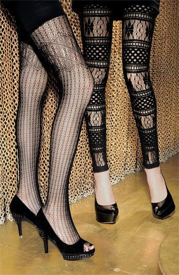 awesome tights by Betsy Johnson and Anna Sui