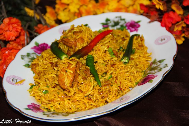 Chatpati Achari Chicken Biryani – Little Hearts