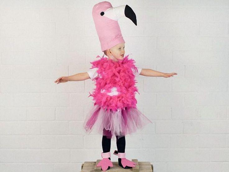 DIY tutorial: Sew A Flamingo Costume via DaWanda.com