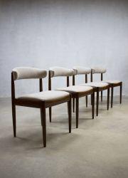 vintage Danish dinner chairs, vintage Deense eetkamerstoelen www.bestwelhip.nl