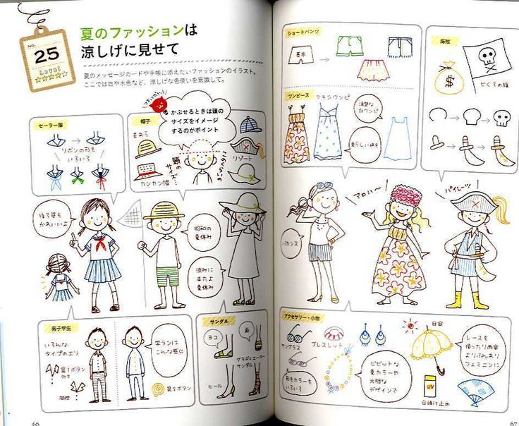 Petit Cute Seasonal Ballpoint Pen Illustration Book Japanese Craft Book | eBay