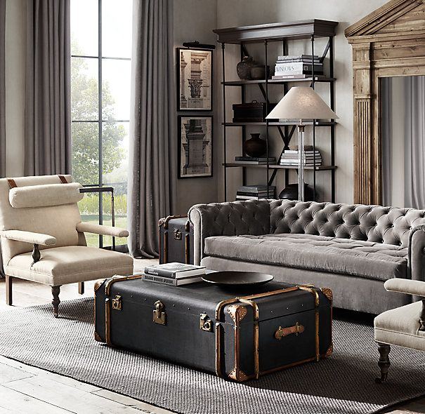 17 Best ideas about Trunk Coffee Tables – Living Room Trunk