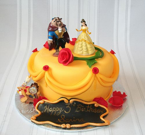 320 best Disneys Beauty and the Beast Cakes images on Pinterest