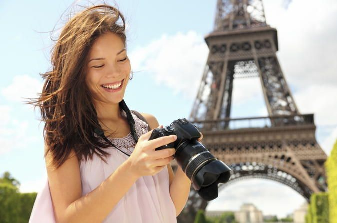Paris City Tour and Eiffel Tower Half-day Trip See Paris' top city attractions and take in panoramic views from the Eiffel Tower on this 3-hour Paris city tour. Admire top city attractions such as the Arc de Triomphe, the Champs-Elysées, Notre Dame Cathedral, Place de la Concorde and the Luxembourg Gardens. Learn of the city's rich history and heritage from the informative on-board commentary. Alight at the famous Eiffel Tower and climb up to the second floor to enjoy br...