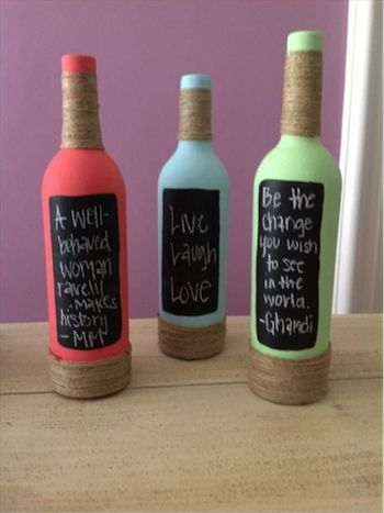 25 best ideas about empty liquor bottles on pinterest for What to make with empty wine bottles