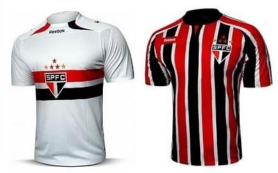 São Paulo FC, shirts of my favorite soccer team in Brazil.