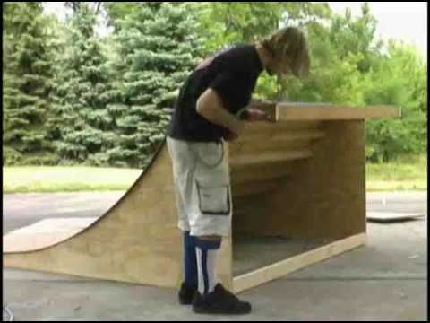 how to make a skateboard ramp out of paper
