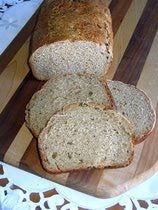 ... ) Uses shortening, rye flour, ground caraway seeds, and bread flour