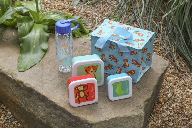 Výbava na piknik, kolekce Zooniverse #lunchbox #waterbottle #accessories #zooniverse