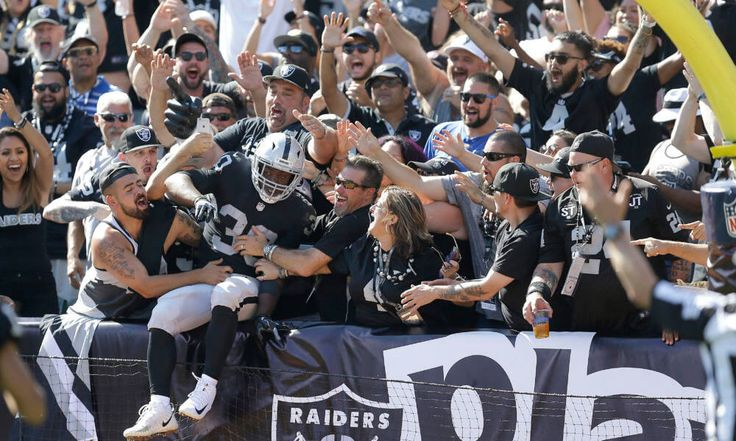"""Raiders may stay in Oakland through 2020 = The Raiders are open to keeping the team in Oakland as they wait for the $1.9 billion stadium to finish completion in Las Vegas. """"For sure we are talking about a one-year extension and there's....."""