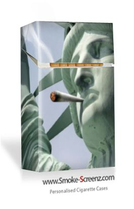 Liberty Indeed! Cigarette pack cover via www.smoke-screenz.com