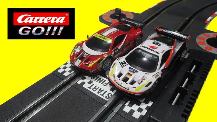 Carrera GO! Ferrari GT Slot Toy Cars Racing Track | Piccolo Bros.