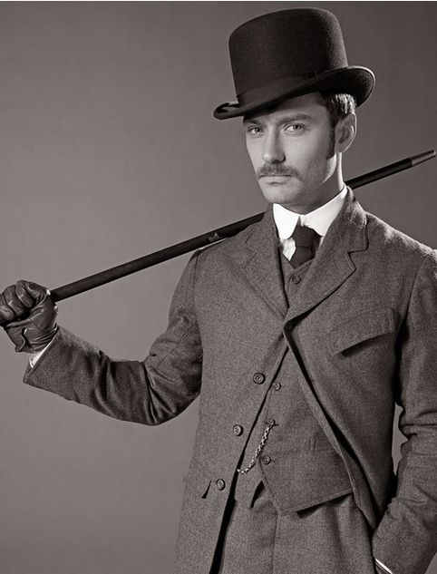 Dr. Watson! From Sherlock Holmes and Sherlock Holmes: A Game of Shadows (Jude Law)