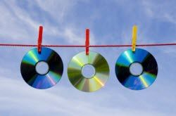 Some do it yourself solutions for cleaning or repairing dirty or scratched DVDs, CDs and game discs using common household products.