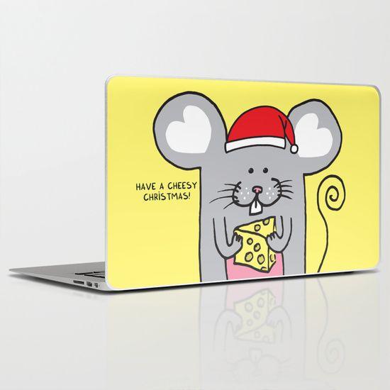 Have a cheesy Christmas Laptop & iPad Skin