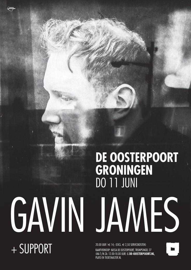 Zijn concert van 8 juni is al een tijdje uitverkocht, maar op donderdag 11 juni zijn er nog een aantal kaarten voor Gavin James. Ben jij erbij?