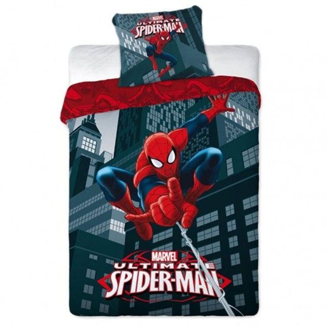 1000 id es sur le th me chambre marvel sur pinterest for Housse couette spiderman