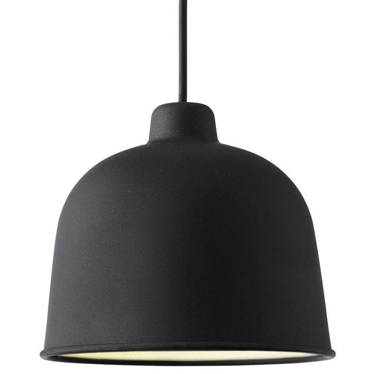 Grain pendel, svart  i gruppen Belysning / Lamper / Taklamper hos ROOM21.no (1024883)