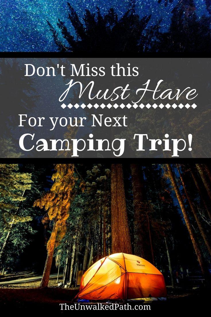 Free Printable Camping Checklist + Customizable Checklist