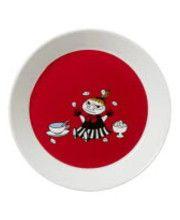 Arabia Muumi Pikku Myy 19 cm punainen lautanen